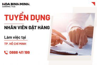 Tuyển dụng Nhân viên đặt hàng làm việc tại chi nhánh Hồ Chí Minh