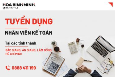 Tuyển dụng Nhân viên kế toán tại Bắc Giang, An Giang, Lâm Đồng, Hồ Chí Minh