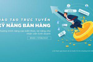 Công ty Gạch Ốp Lát Hòa Bình Minh đào tạo trực tuyến kỹ năng bán hàng cho nhân viên kinh doanh