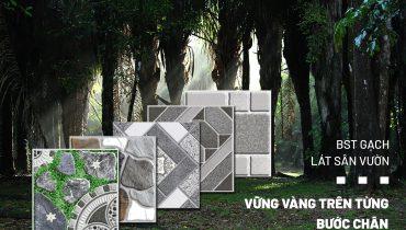 Bộ sưu tập gạch lát sân vườn vạn người mê